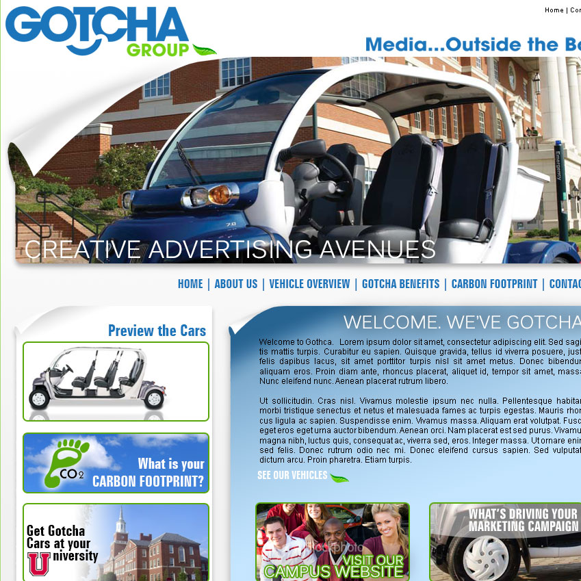 The Gotcha Group Website Launch