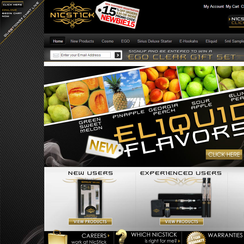 NicStick Launches New and Improved Website