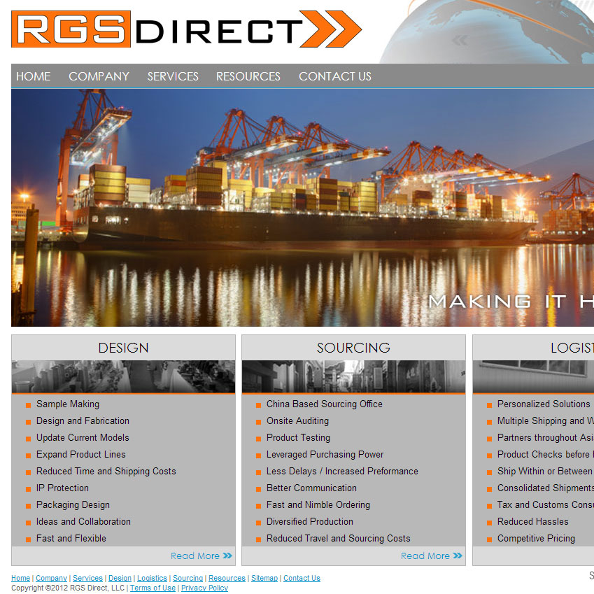 RGS Direct Website Launch