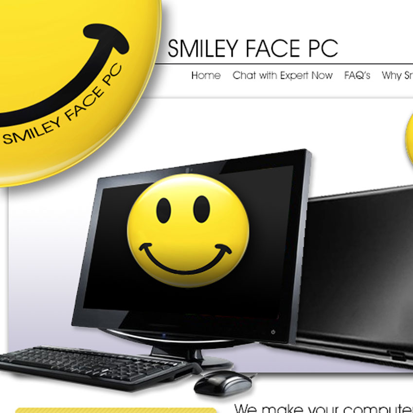 Smiley Face PC Website Launched