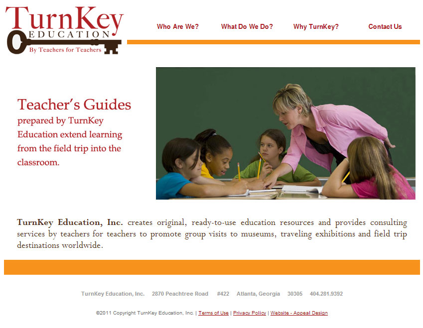Turnkey Education Website Launched