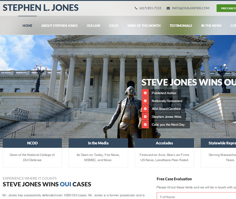 Stephen Jones OUI Lawyer